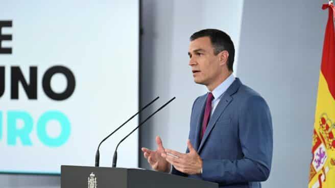 Pedro Sánchez anuncia los cambios en su gobierno.