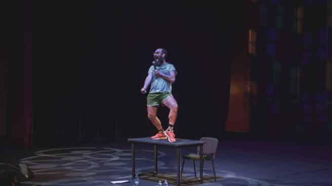 Ignatius Farray en una actuación