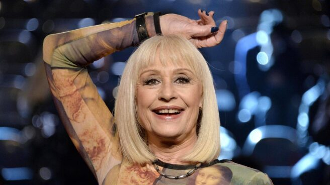 La artista Raffaella Carrà, fallecida a los 78 años de edad.