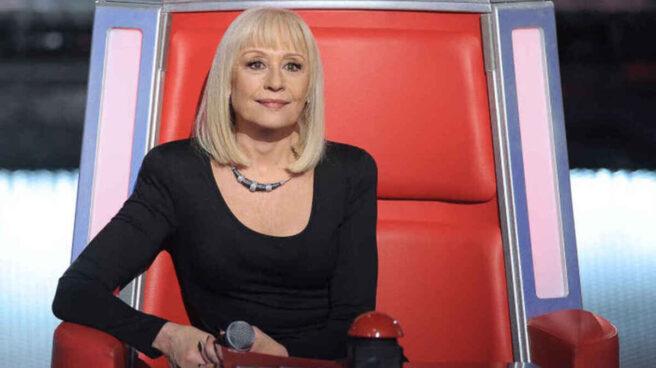 Raffaella Carrà en un concurso de televisión