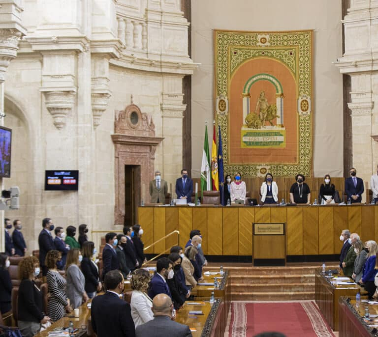 Una rata provoca el caos en el Parlamento andaluz