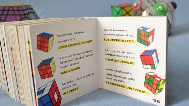 Instrucciones Cubo Rubik.