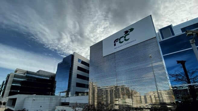 Imagen de la sede de FCC en Madrid.