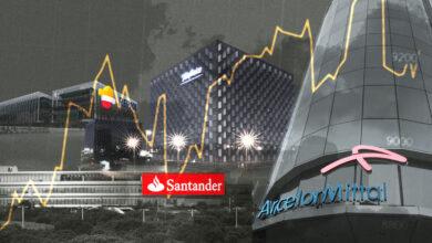 La banca, las 'telecos' y una farmacéutica conquistan el top 10 del Ibex en la primera mitad del año