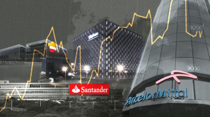 El top 10 de las empresas del Ibex que más han ganado en la primera mitad del año