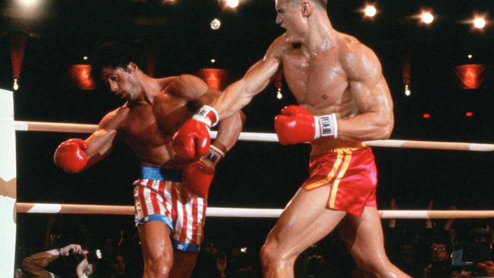 When Sylvester Stallone went to the ICU in the middle of filming 'Rocky IV'