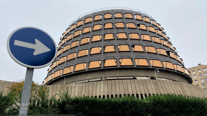 Edificio que alberga el Tribunal Constitucional, en Madrid.
