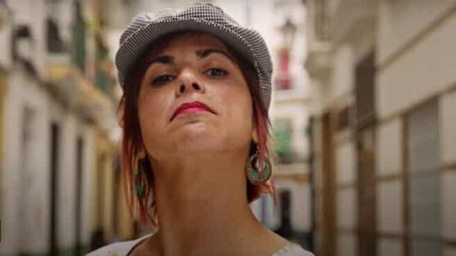 Teresa Rodríguez en el vídeo promocional de la refundación de Adelante Andalucía