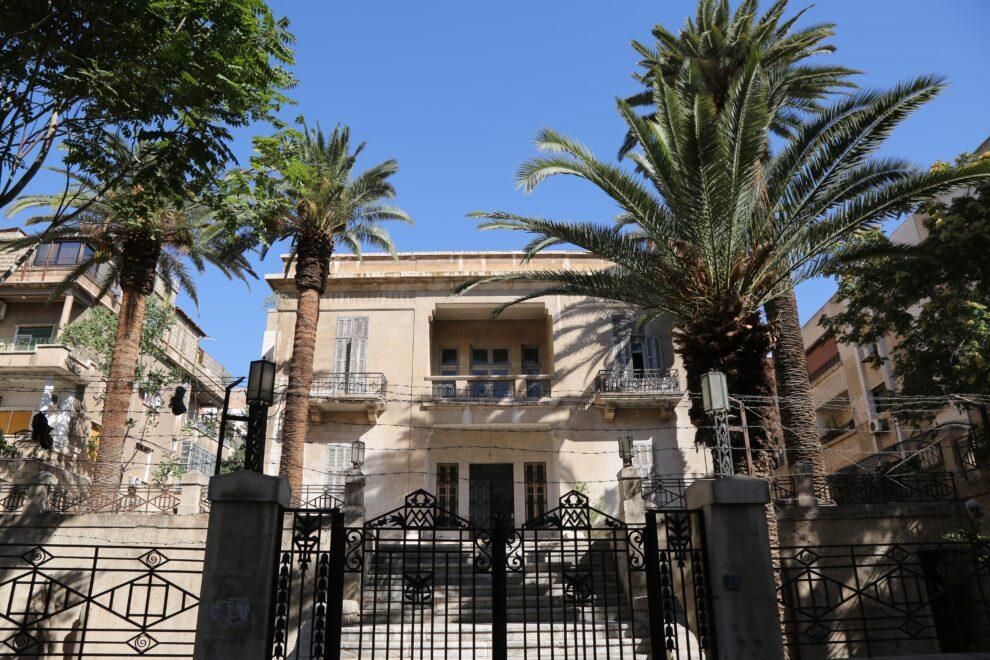 La casa al Ayubi, construida por Aranda en 1928, en uno de los barrios más cotizados de Damasco