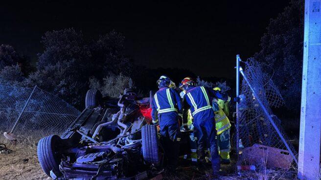 Accidente de tráfico en Valdemorillo.