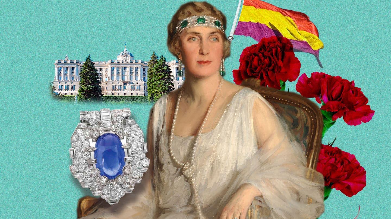 Imagen de la reina Victoria Eugenia