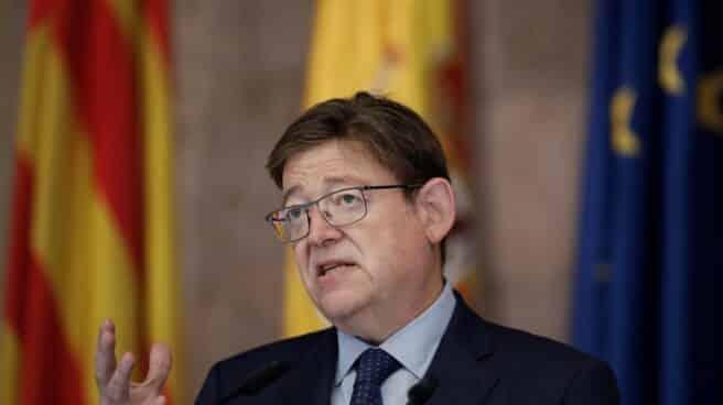 Ximo Puig, en rueda de prensa.