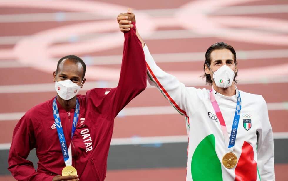 El doble oro de salto de altura de Tokio 2020
