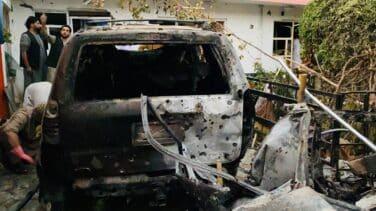 """EEUU bombardea un vehículo por la amenaza """"inminente"""" de atentado en el aeropuerto de Kabul"""