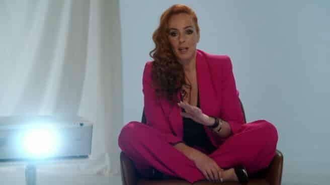 Imagen de Rocío Carrasco, Rociíto, en las declaraciones en el documental de Telecinco
