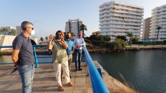 Ribera visita Mar Menor