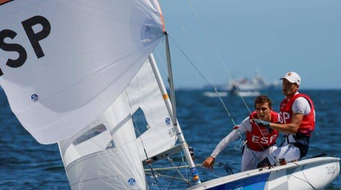 Jordi Xammar y Nico Rodríguez logran el bronce en el 470 de vela