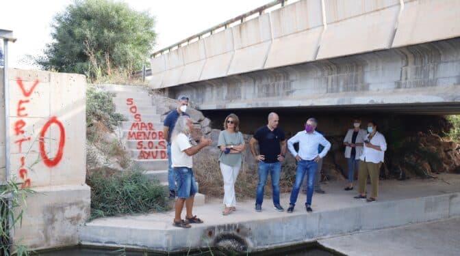 Vertido cero, la solución de 620 millones al Mar Menor que Teresa Ribera abandona por el 'cinturón verde'