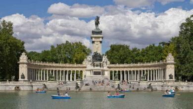 El Retiro y ocho parques de Madrid mantendrán zonas balizadas tras activarse la alerta amarilla por altas temperaturas