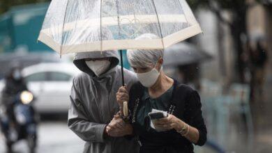 Septiembre arranca con alerta amarilla en todo el país por lluvias y tormentas