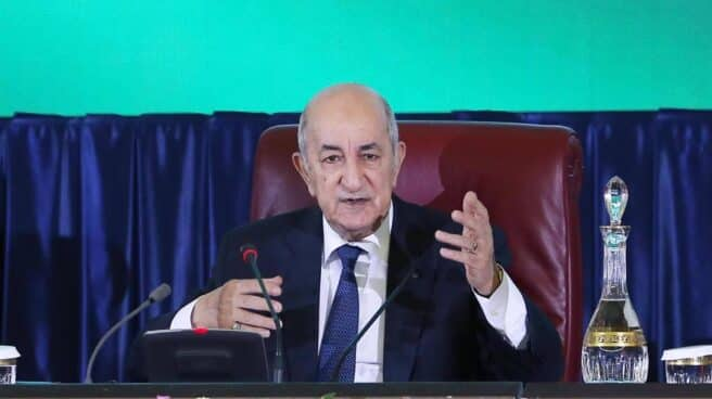Abdelmayid Tebune, presidente de Argelia