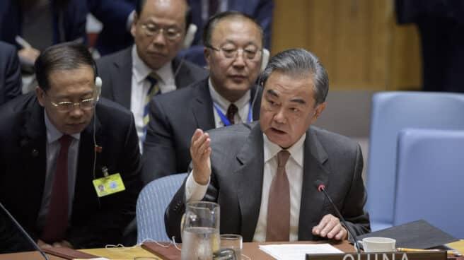 El ministro chino de Exteriores, Wang Yi, en la ONU