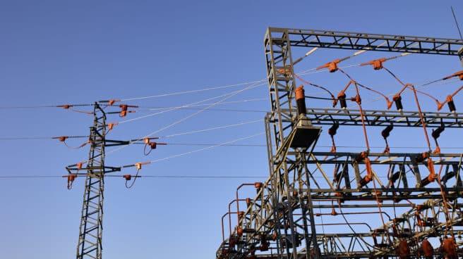 Una central eléctrica, a 21 de agosto de 2021, en Madrid (España)