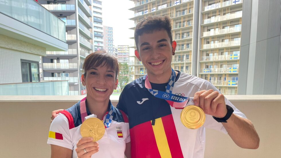 Sandra Sánchez y Alberto Ginés, medallistas de oro en los Juegos de Tokio