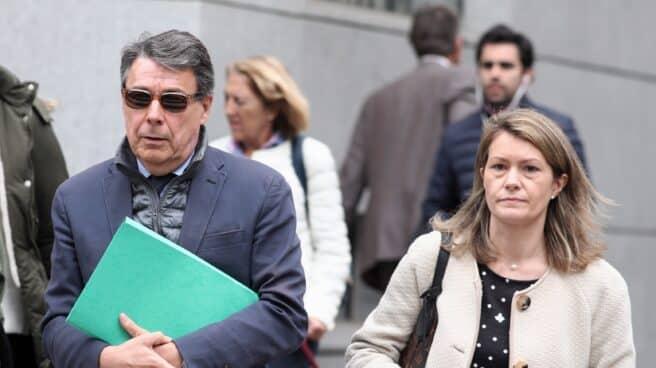El expresidente madrileño Ignacio González sale de la Audiencia Nacional