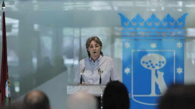 La portavoz de Más Madrid, Marta Higueras