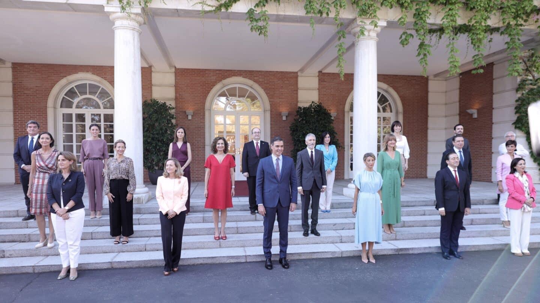 Primer Consejo de Ministros tras la remodelación del Gobierno de coalición