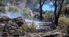 Estabilizado el incendio del Pantano de San Juan
