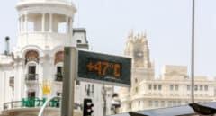 Las 10 temperaturas más altas alcanzadas en la ola de calor en España