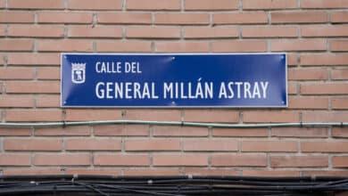 El general Millán Astray regresa al callejero de Madrid entre las críticas de Más Madrid y Podemos