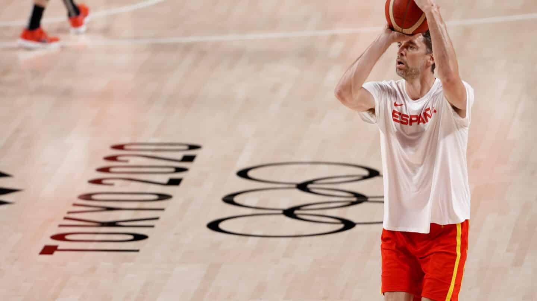 Pau Gasol, en los Juegos Olímpicos de Tokio