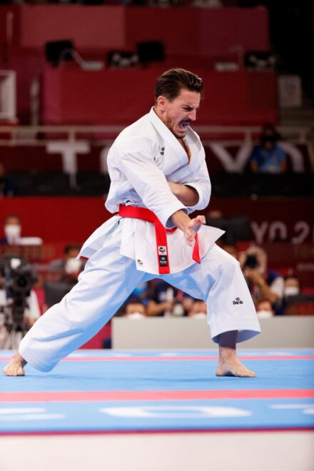 Damián Quintero en los Juegos Olímpicos de Tokio