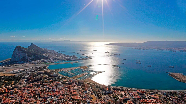 Vista aérea de La Línea de la Concepción
