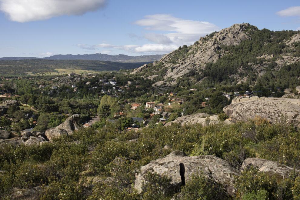 Entorno perteneciente a La Pedriza donde se encuentra una zona de nidificación de Buitres Leonados