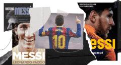 Lionel Messi: 10 libros 'de leyenda'