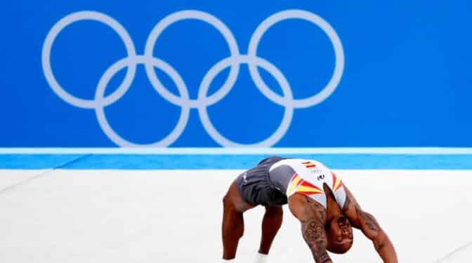 El desquite de Ray Zapata: el gimnasta gana la plata en suelo en Tokio 2020