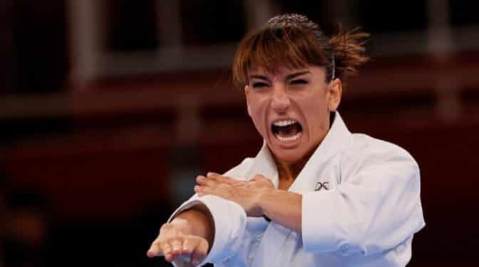 Sandra Sánchez, la karateca que no entró en la selección hasta los 34 años
