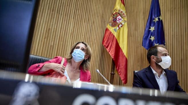 La ministra de Transición Ecológica y Reto Demográfico, Teresa Ribera, preside una Comisión de Transición Ecológica y Reto Demográfico,