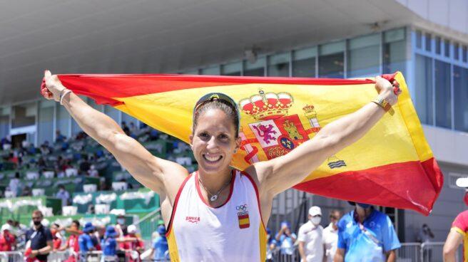 Teresa Portela, plata en los Juegos de Tokio
