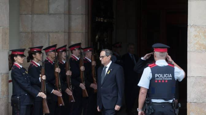 """El Govern completa la desarticulación de la """"guardia pretoriana"""" de Torra"""