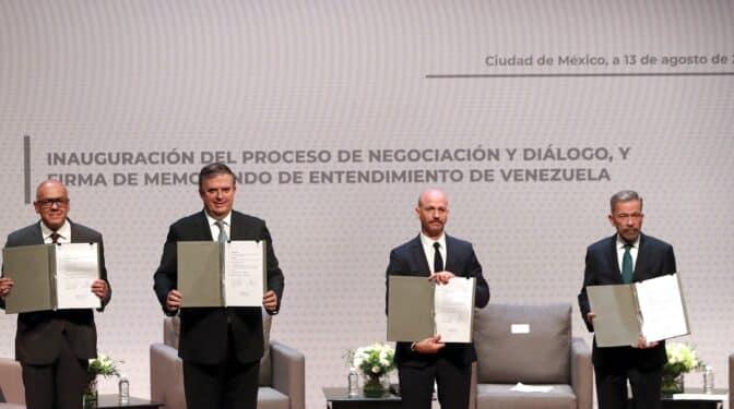 Qué hay en juego en la nueva negociación sobre el futuro de Venezuela