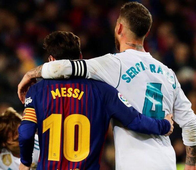 Messi y Sergio Ramos, de rivales a compañeros