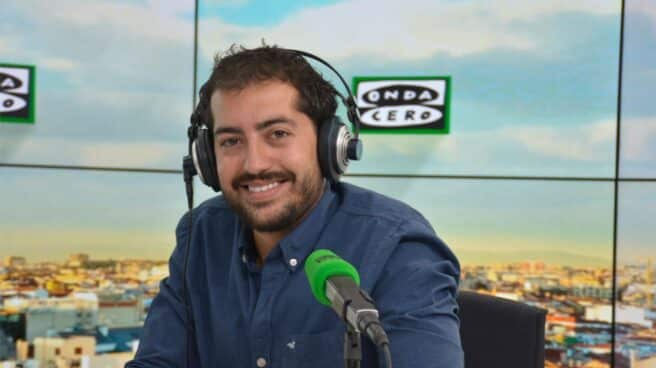 Aitor Gómez, periodista deportivo de Onda Cero.