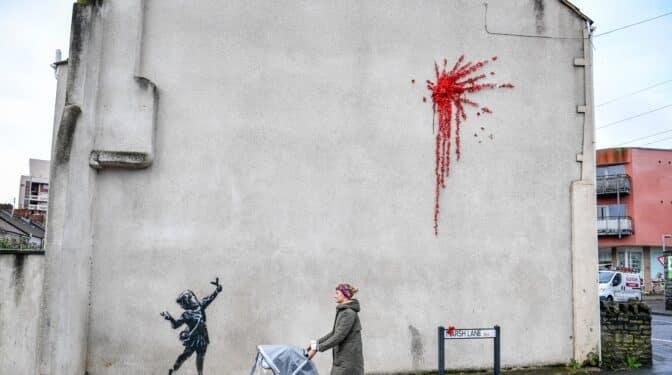 Banksy, el genio sin rostro del arte callejero
