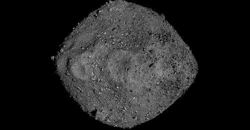 El asteroide Bennu.