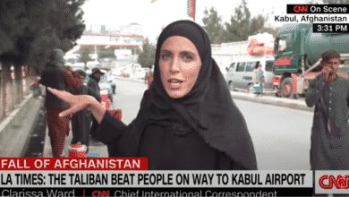 La corresponsal de la CNN Clarissa Ward, evacuada de Kabul en un vuelo militar con refugiados afganos